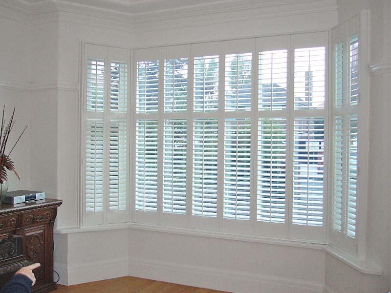 Bay Window Shutters Amp Wooden Shutter Blinds Perfect Shutters