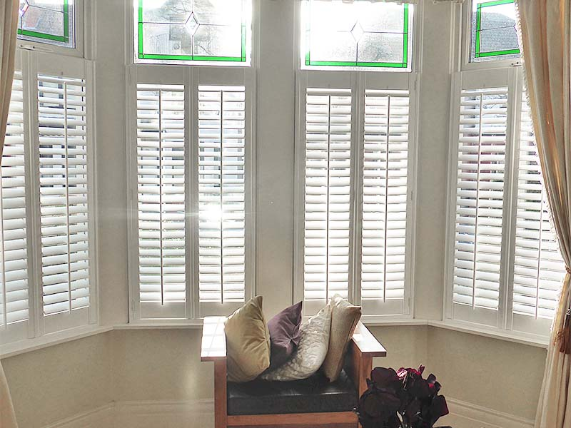 Bay Window Shutters Amp Wooden Shutter Blinds Perfect Shutters