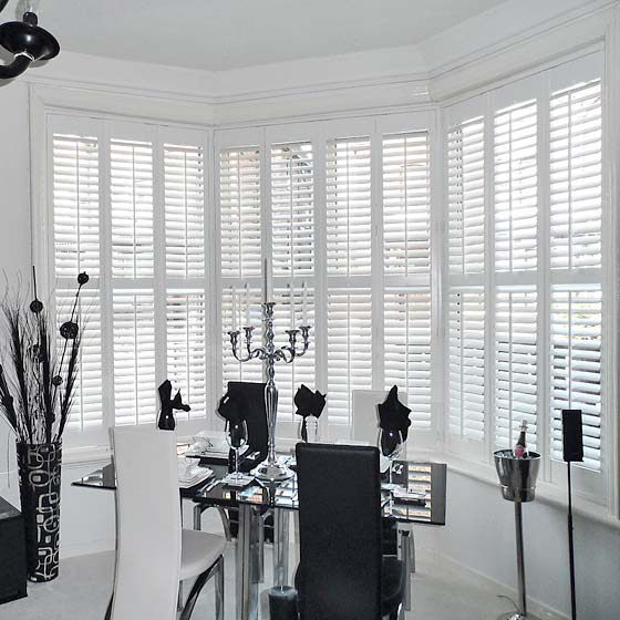 Bay Window Shutters, West Derby, Liverpool