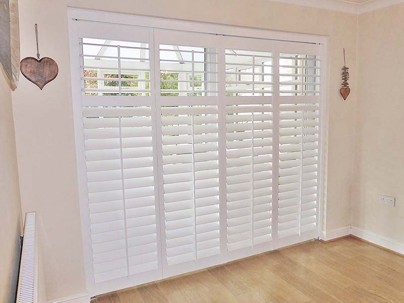 French Door Plantation Shutters 02 Perfect Shutters