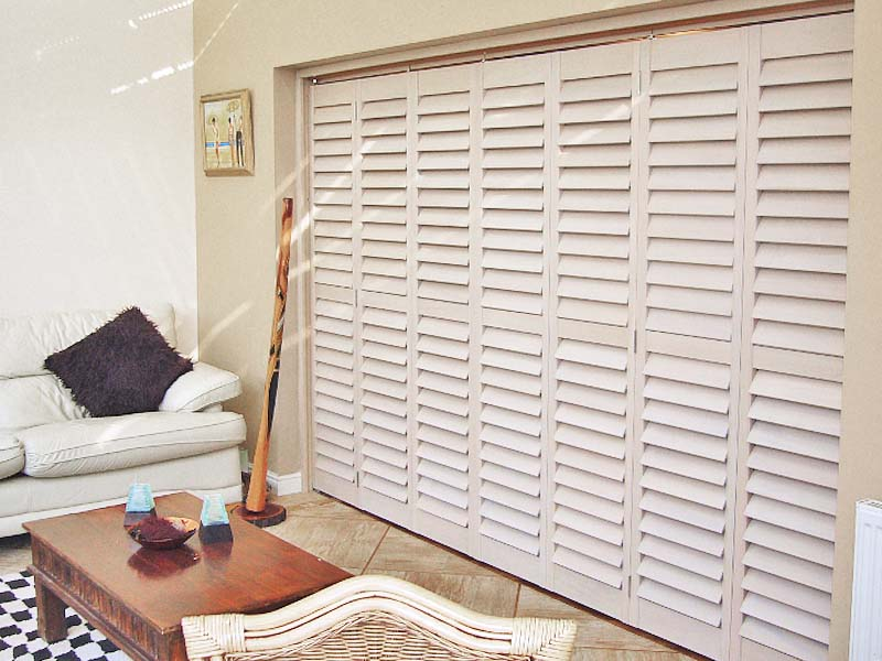 VIEW FULL GALLERY & French Louvre Door Shutters   Perfect Shutters North West Uk pezcame.com