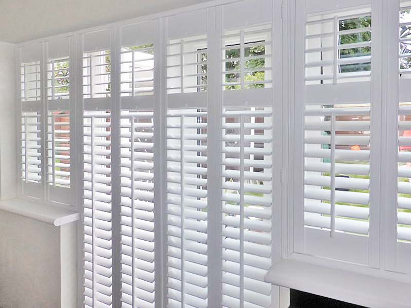 French Door Plantation Shutters 11
