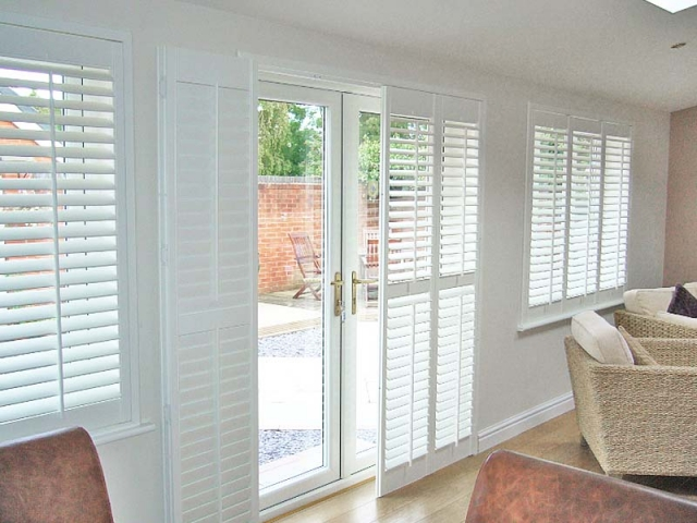 French Louvre Door Shutters Perfect Shutters North West Uk