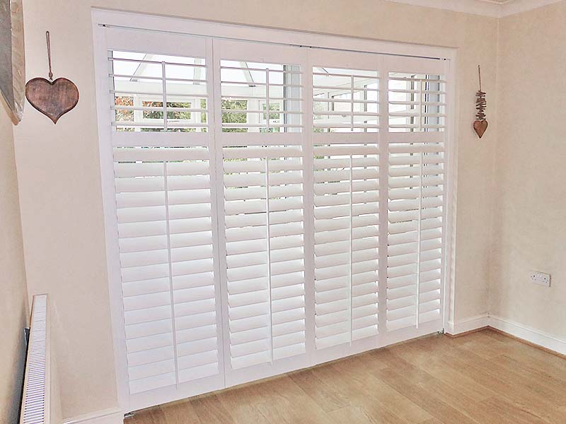 French Door Plantation Shutters 20