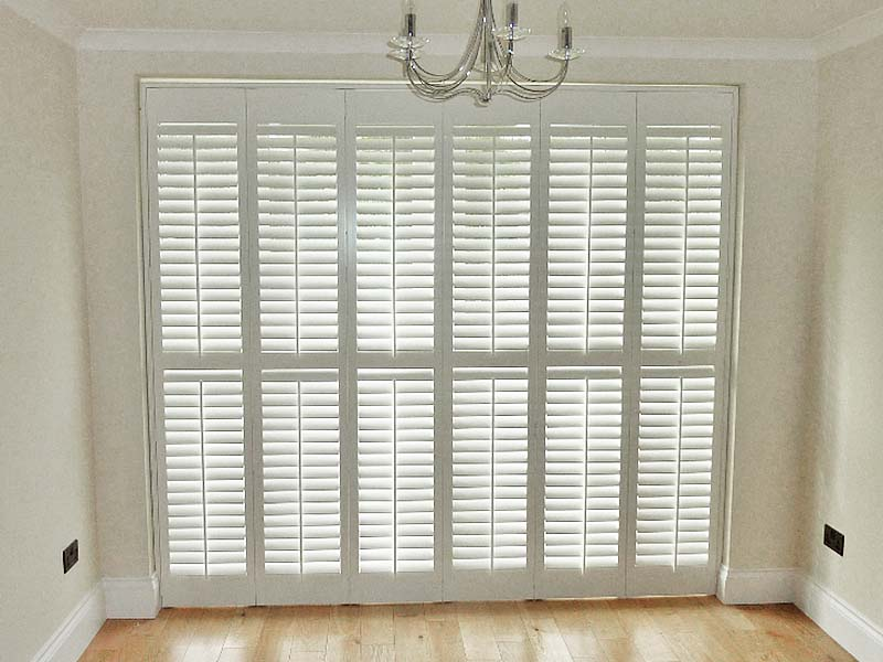 French Door Plantation Shutters 25