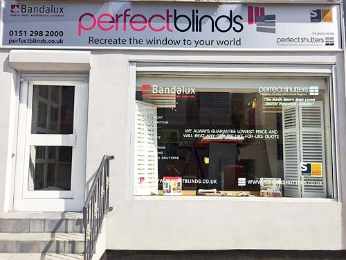 Perfect Blinds & Shutters, 52 Stafford Street, Liverpool L3 8LX