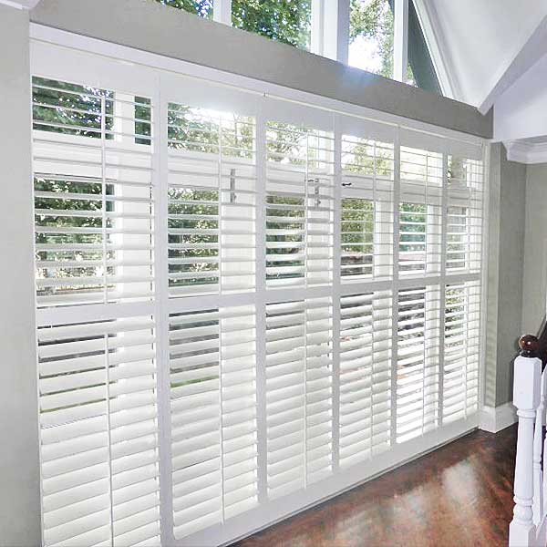 Tracked Plantation Shutter by Perfect Shutters