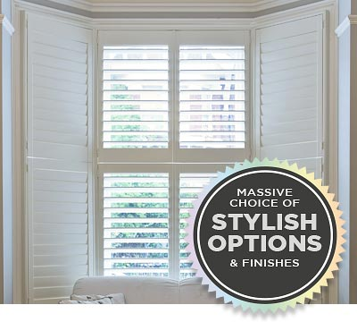 Biggest Range of Plantation Shutters