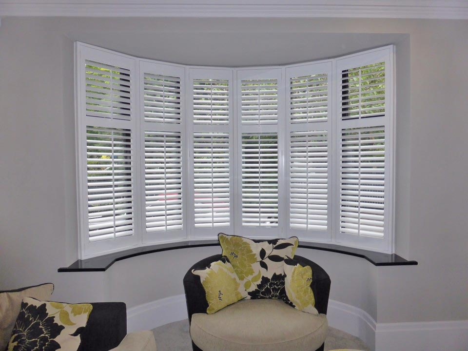Plantation Shutter Bay Window Frames Perfect Shutters