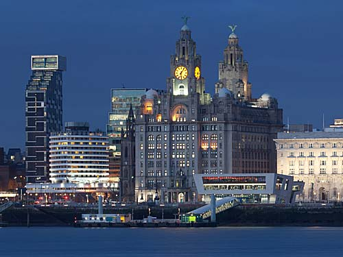 City of Liverpool on Merseiyside image