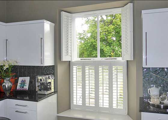 Tier-on-Tier Plantation Shutters image