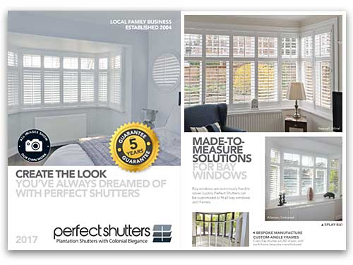 Request or Download a Free Perfect Shutters 2017 Brochure image