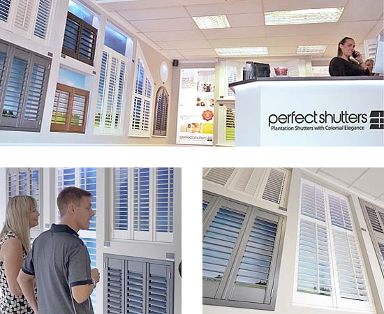Visit the Perfect Shutters Showroom, Allerton Road, Liverpool image