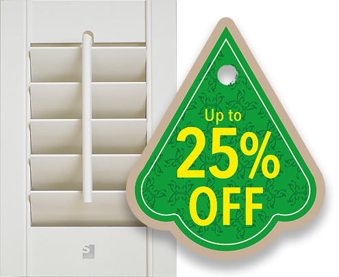 Perfect Shutters - SAVE up to 25% OFF Planation Shutters