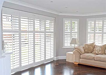 S-CRAFT Full Height Plantation Shutters from Perfect Shutters