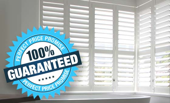 Perfect Shutters Lowest Price Promise on Plantation Shutters