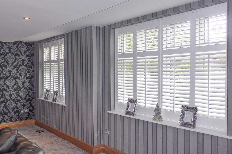 Image of Full Height Shutters in North West UK installed by Perfect Shutters