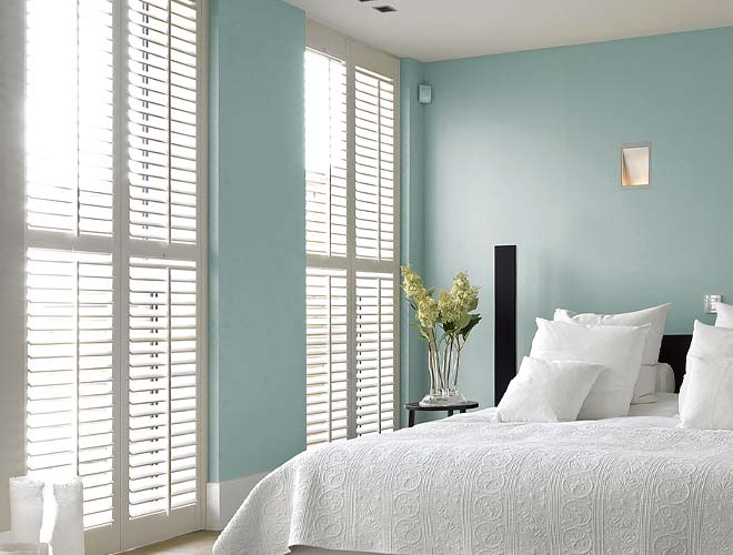 Image of a Bedroom Plantation Shutter, North West UK by Perfect Shutters