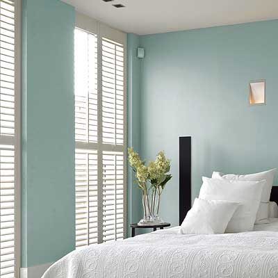Image of Bedroom Plantation Shutters adding value to property