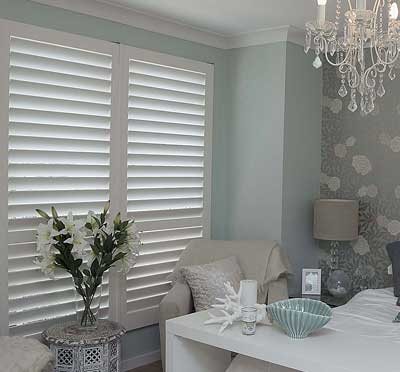 Plantation Shutters protect your privacy