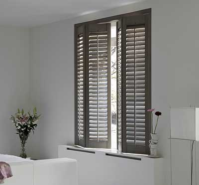 Image of energy efficient bedroom shutter blinds