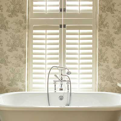 Image of bathroom planation shutter