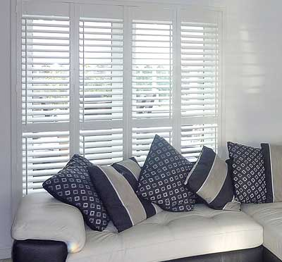 Image of energy efficient Patio shutter blinds