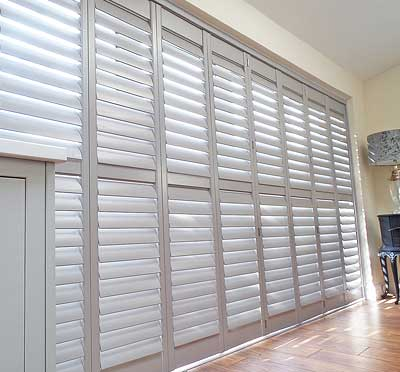 image of Patio Shutter offering light & noise control benefits