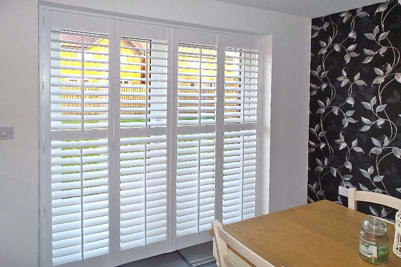 Image of Patio Shutters for Patio and French Doors