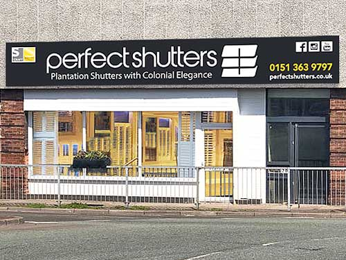 Perfect Shutters, 200 Hoylake Road, Moreton, Wirral CH46 9TL.