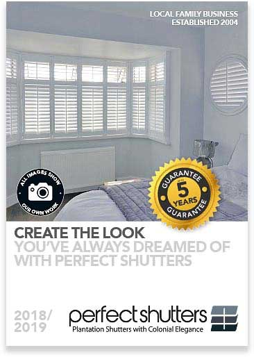 Image of a Perfect Shutters Brochure