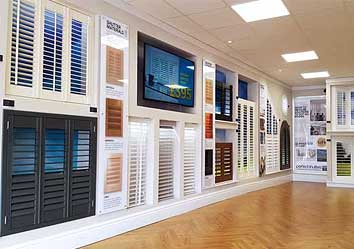 Image of Perfect Shutters showroom on Wirral