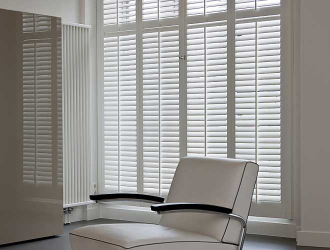 Image of a Full Height Plantation Shutter, North West UK by Perfect Shutters
