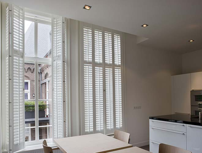 Image of a Kitchen Plantation Shutter, North West UK by Perfect Shutters