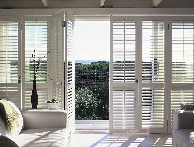 Image of a Track Plantation Shutter, North West UK by Perfect Shutters