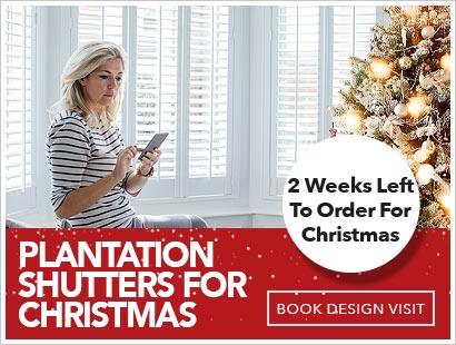Image of Plantation Shutters for Christmas