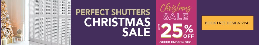 Image of 25% Off Shutters badge