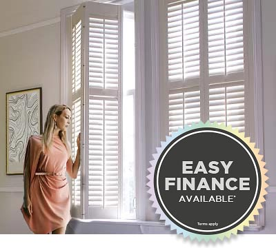 Easy Finance Available for Shutters