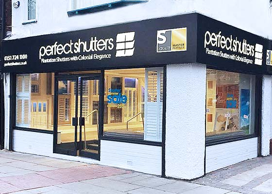 Perfect Shutters Showroom Allerton Liverpool