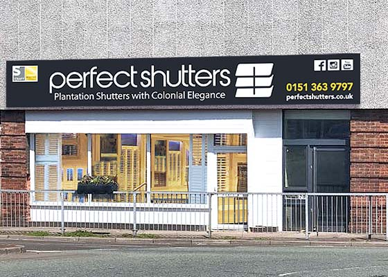 Perfect Shutters Showroom Moreton Wirral