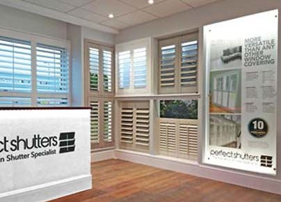 Perfect Shutters Aintree Showroom