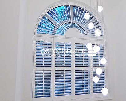 Arched Shaped Shutter