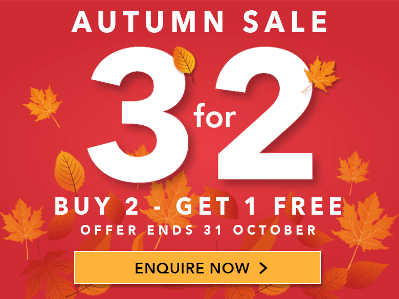 Autumn 3 for 2 Shutter Sale