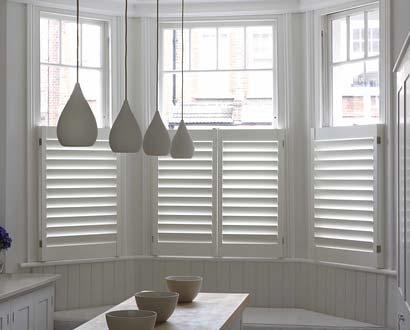 Bay Window Cafe Style Shutter
