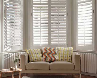 Bay Window Shutter Blinds