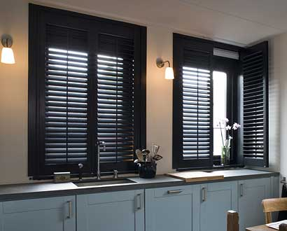 Kitchen Plantation Shutters North West UK
