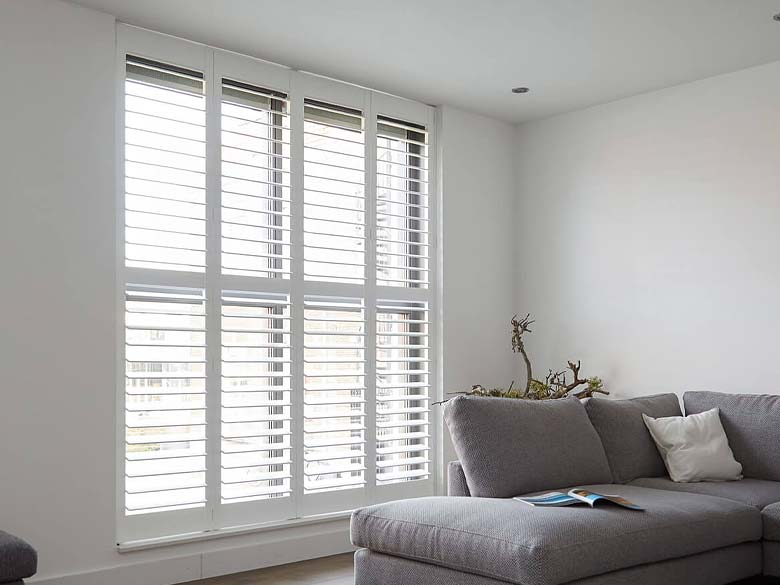 Living Room Shutters North West UK