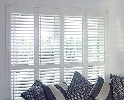 Patio Plantation Shutters