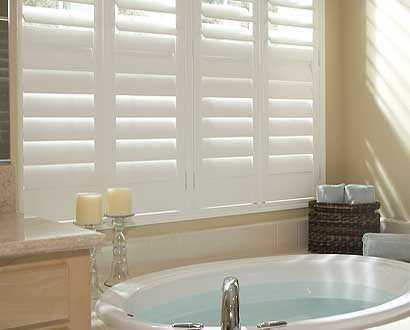 Privacy with Plantation Shutters