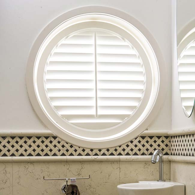 Round and Curved Window Shutters